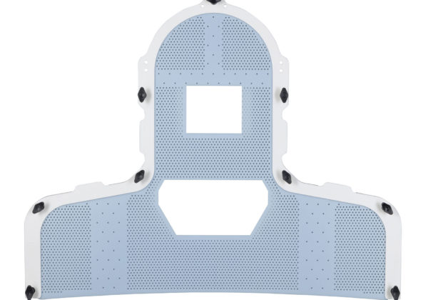 363440 S-Type mask selective perfo open face Head Neck and Shoulder thermoplastic mask